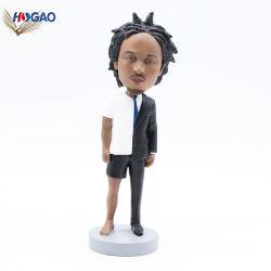 Conception personnalisée de résine de haute qualité Fashion Star Figurine Bobble Head