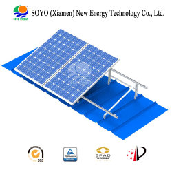 Сталь алюминий Roof-Top наклона солнечной системы для домашнего и коммерческого использования