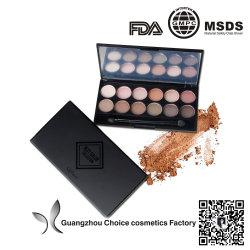 Chaque étiquette Étiquette OEM maquillage Fard à paupières de pigments naturels cosmétiques haut