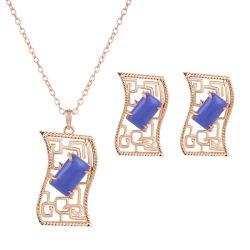 Großhandel 2018 Top Wedding Design Frauen Mode Schmuck Zubehör Ohrringe Halskette Hochzeitsschmuck Set