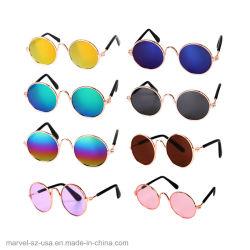 Peu de chien chat Chat d'alimentation pour animaux de compagnie Eye-Wear Lunettes de soleil accessoires pour animaux de compagnie