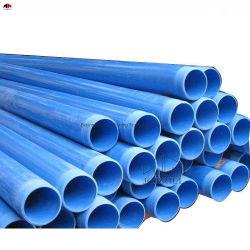 / Tubo de agua de plástico de PVC subterránea del tubo poroso/PVC Tubo orificio múltiple