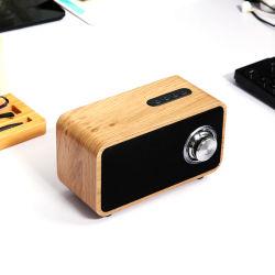 Дешевле компьютер Audio 3,5 деревянные беспроводной динамик с технологией Bluetooth V4.0
