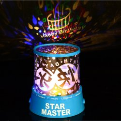 Светодиодный проектор звезд ночное освещение на Рождество оформление