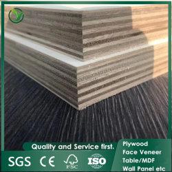Venta de fábrica de tipos de madera de álamo de la madera contrachapada, laminado Okoume Tablero contrachapado, Comercial Plywoood para muebles