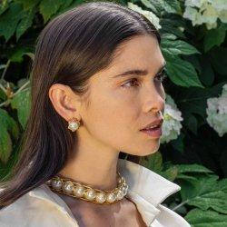 Мода роскошь тканого Pearl набора ювелирных изделий