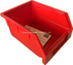 Armazenagem de plástico Bin travando a caixa de armazenamento