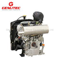 La Chine Changchai V-twin refroidi par eau cylindre moteur Diesel 19HP [EV80]