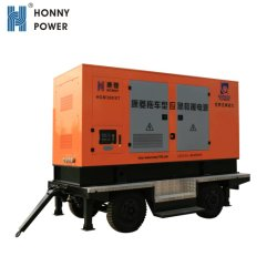 1MW-50MW de electricidad de combustible de Gas Diesel Hfo planta de energía móvil