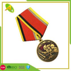 Coupe du Monde de l'Allemagne die personnalisé a frappé en laiton Prix comme décoration de la médaille de métal (067)