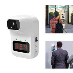 Fabricant de Shenzhen sans contact de la température corporelle automatique Scanner murale électronique Main Libre Thermomètre infrarouge numérique pour le bureau d'un supermarché