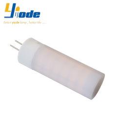 G4 12Vのシャンデリアのための乳白色のランプのかさ2835SMD陶磁器LEDランプ