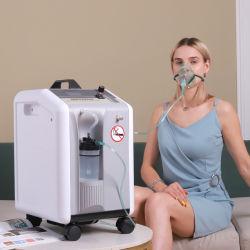 Портативные медицинские устройства домашних хозяйств 10L кислородный концентратор