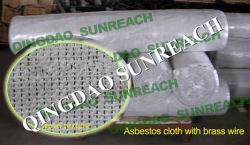 Pano de amianto com fio de latão