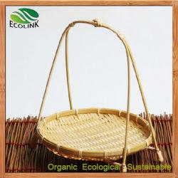 De Rieten Manden van het bamboe voor de Bloem van het Fruit