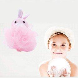 Giocattolo animale della sfera dell'acquazzone della stanza da bagno per la sfera del soffio del bagno della maglia della spugna del corpo dei bambini del bambino
