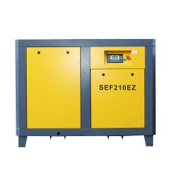 Ahorro de energía industrial y producto de compresores de aire de tornillo rotativo