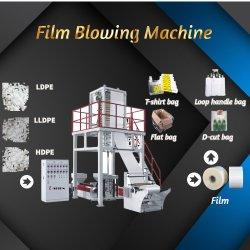 ABA de alta velocidade camadas Duplo Filme máquina extrusora/cabeça de tarracha rotativo filme máquina de sopro