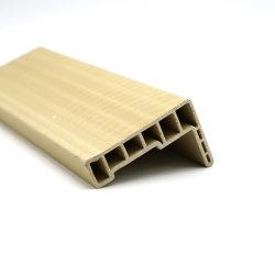 Le WPC étanches matériau boîtier porte recouvert de PVC Architrave