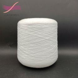 100% من بيرون Yarn Yarn 80s/2 أبيض نيء للارتداء تحت الملابس، المطرز، قماش الحرير