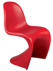 Empilhamento de plástico Dining Chair Furniture Verner Panton S Pantone