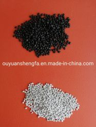 Grânulos de resinas de pelotas de plástico reciclado Virgem de PVC para cabos