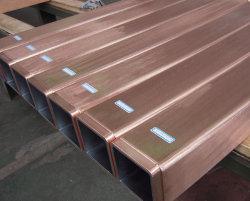 Tubes en cuivre moulé de tailles différentes pour les aciéries