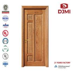 أبواب داخلية مخصصة باب خشبي منزلق مصنوع من الخشب مصفح