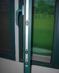 Fenêtre de verrouillage multipoint à battants en aluminium