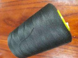 Não preta 50 Aramida, fios de coser resistência ao fogo nas roscas