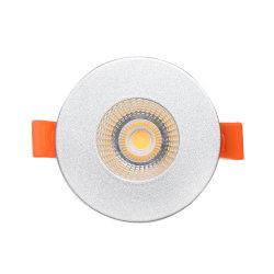 Gran cantidad de lúmenes de luz hacia abajo en el techo de aluminio para Shoppingmall Centre Hotel Retrofit LED Downlight empotrado con redondas y cuadradas 7W 10W