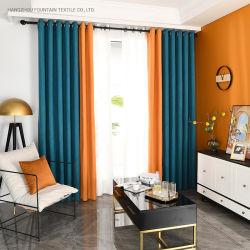 Aparelhos electrodomésticos Cortina Flutuante Custom-Made Cortina de tecido Sombreamento Isolamento Térmico de Tecido Cortina Perforation-Free