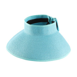 Masken-Hut der Dame-Wide Brim Foldable Straw Sun