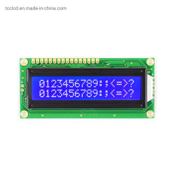 TCC 16X2 작은 문자 흑백 영숫자 4/8비트 병렬 SPI/I2C 인터페이스 LCD 디스플레이