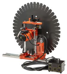 Cayken Electric Power Tool pared de hormigón Sierra 320mm pared totalmente automática Máquina de corte