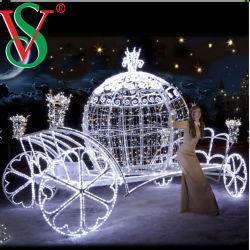 Традиционно оформлены и в Рождество - ночь под руководством Рождество фонарь/ тележки с оленями LED стиле фонари