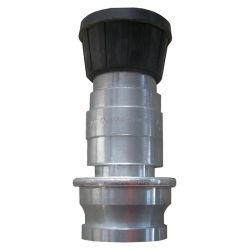 1.5 ou une buse en aluminium 2.5inch tuyau d'incendie, enrouleur de tuyau flexible buse d'incendie