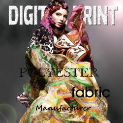 Design personalizado acetinado Poly Impresso Digital
