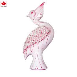맞춤형 레진 핑크 코모란트 피구린 웨딩 장면 장식
