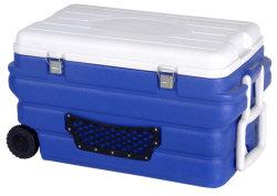 [90ل] [بورتبل] [فكّين] وعاء صندوق تخزين مبرّد [كلد شين] يعزل صندوق مع جليد حزمات