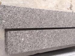 Chino de alta calidad flameados/pulidas losas de la Real de la luz de color marrón de la pared de granito Baldosas de piedra de pavimentación exterior