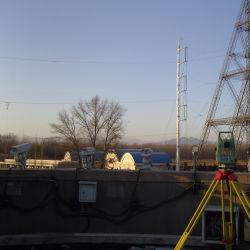 단일 파이프 변속기 라인 폴 파워 타워 전력