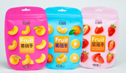 Gedruckter Reißverschluss-Reißverschluss-Verschluss-Reißverschluss lamellierter Fastfood- Beutel-Packpapier-flexible Plastikverpackung gefrorener Meeresfrucht-Reis-Kaffee-Tee-Imbiss-Frucht-Tabak-verpackenbeutel