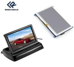 Ronen Rg-T430mpno-01 per il backup automatico della vista di riaccensione del parcheggio del monitor da tavolo per auto Display LCD HD da 4.3 pollici