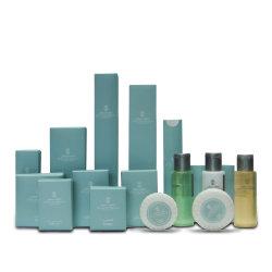 Amostra grátis Ecológico de quarto de hotel spa personalizado amenidades de higiene pessoal definir fontes de hotel