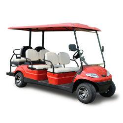 Chinesische Herstellung Batteriebetriebene Golf Auto für 6 Sitzer