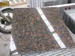 Wall Floor Claddingのための熱いSale Natural Stone Polishedバルト諸国ブラウンGranite Tiles