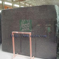 Bronzeado polido de alta qualidade lajes de granito Marrom