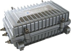 Bidirektionaler CATV AGC-Stammverstärker, zweipolig