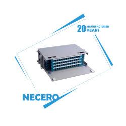 16 Ventilateur Ruban-out ODF Cordon de raccordement à fibre optique SC LC Connecteur ST PSG MPO queue de cochon de 20 ans Necero en usine